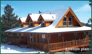 Custom Cedar Log Homes, Log Cabins | Cedar Log Home Plans